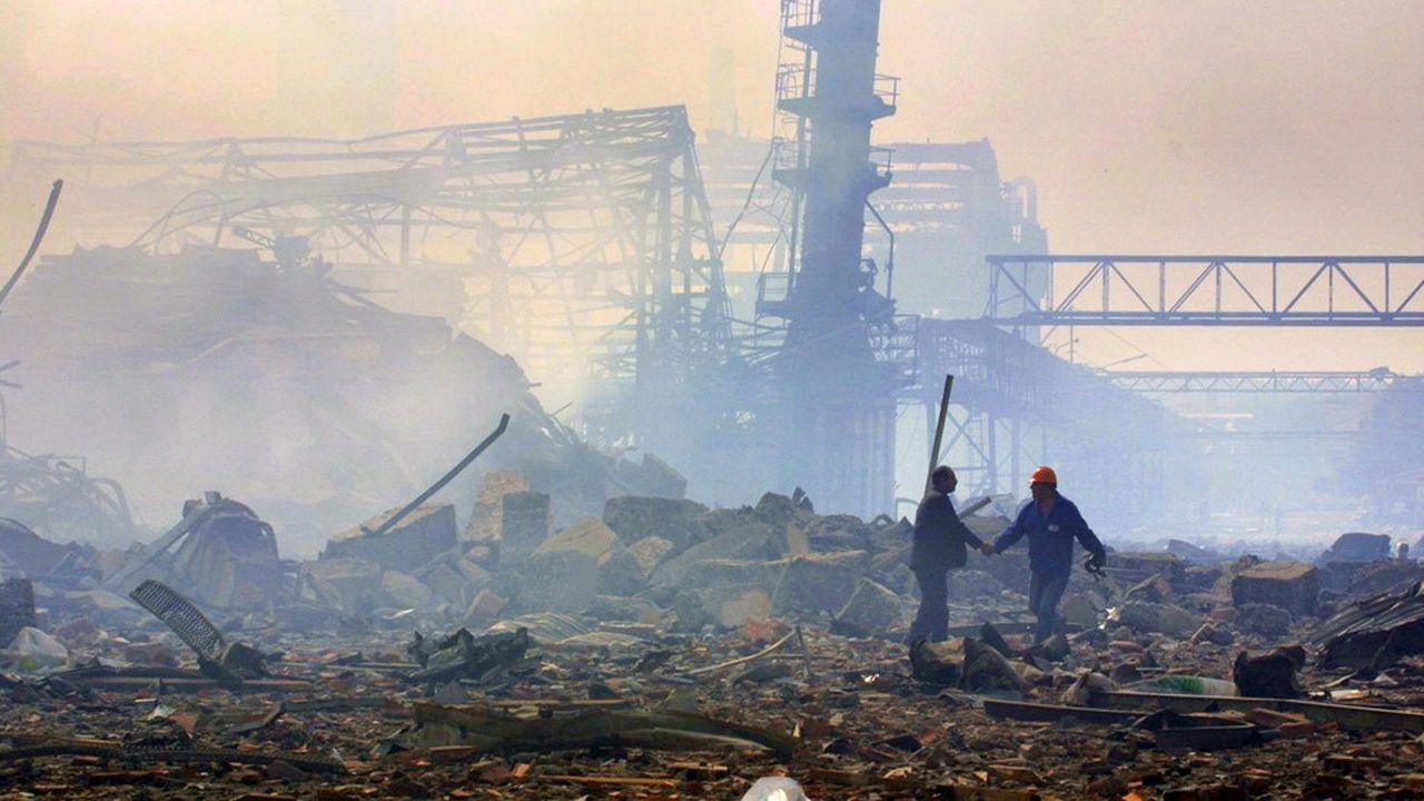 L'explosion de l'usine AZF, le 21septembre 2001 dans la banlieue sud de Toulouse, avait causé 31 morts.