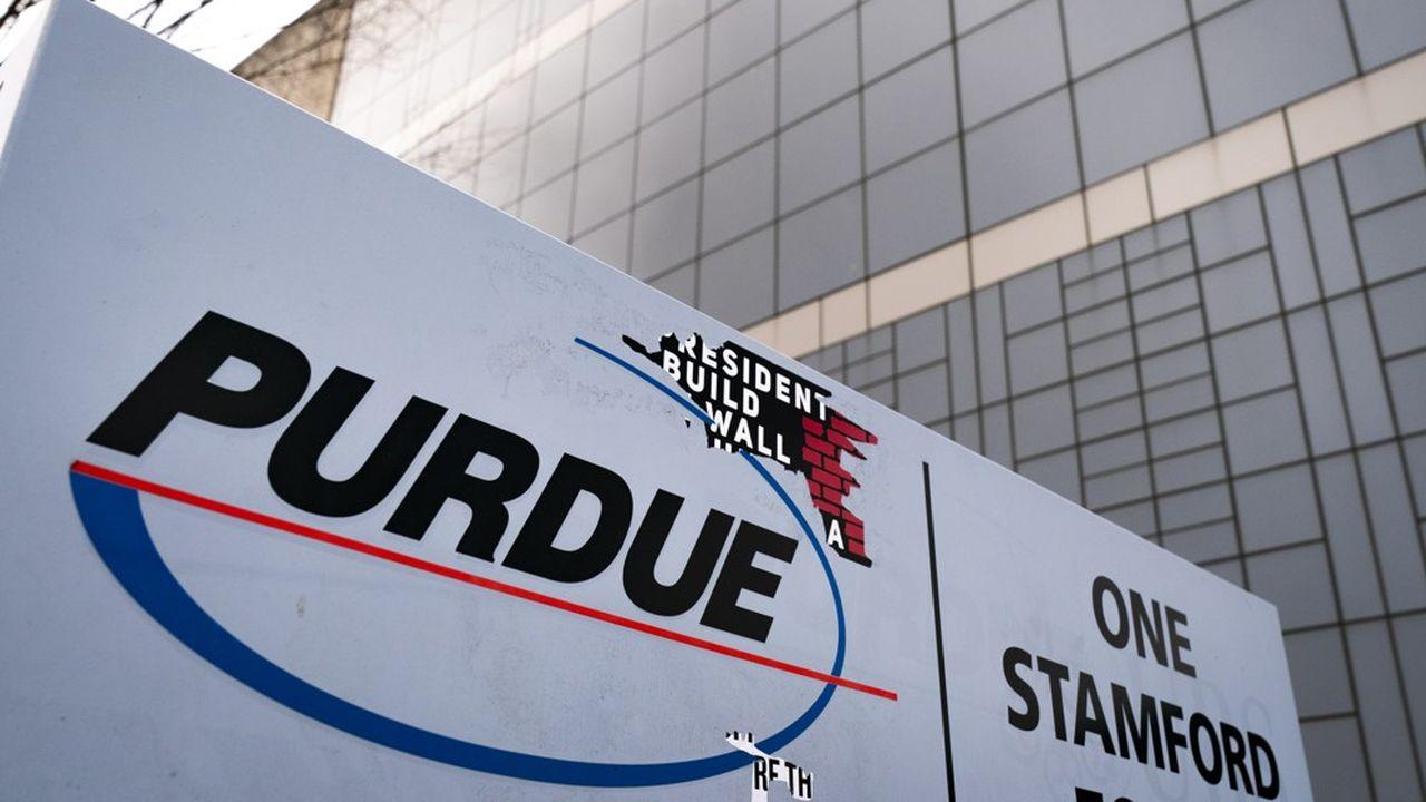 Le ministère de la Justice américain pourrait demander jusqu'à 18,1milliards de dollars à l'entreprise pharmaceutique Purdue.