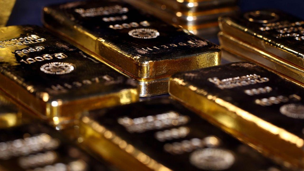L'once d'or a franchi les 2.000dollars pour la première fois de son histoire.