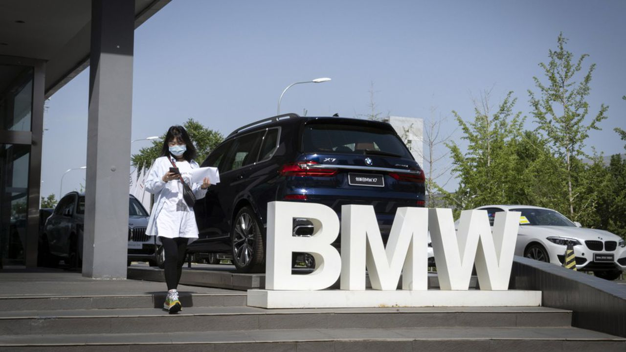 BMW n'échappe pas à la crise née de la pandémie de Covid-19