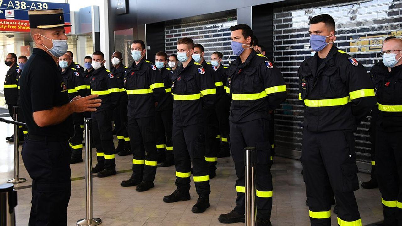 Un détachement de la sécurité civile s'apprête à s'envoler de Roissy pour le Liban.
