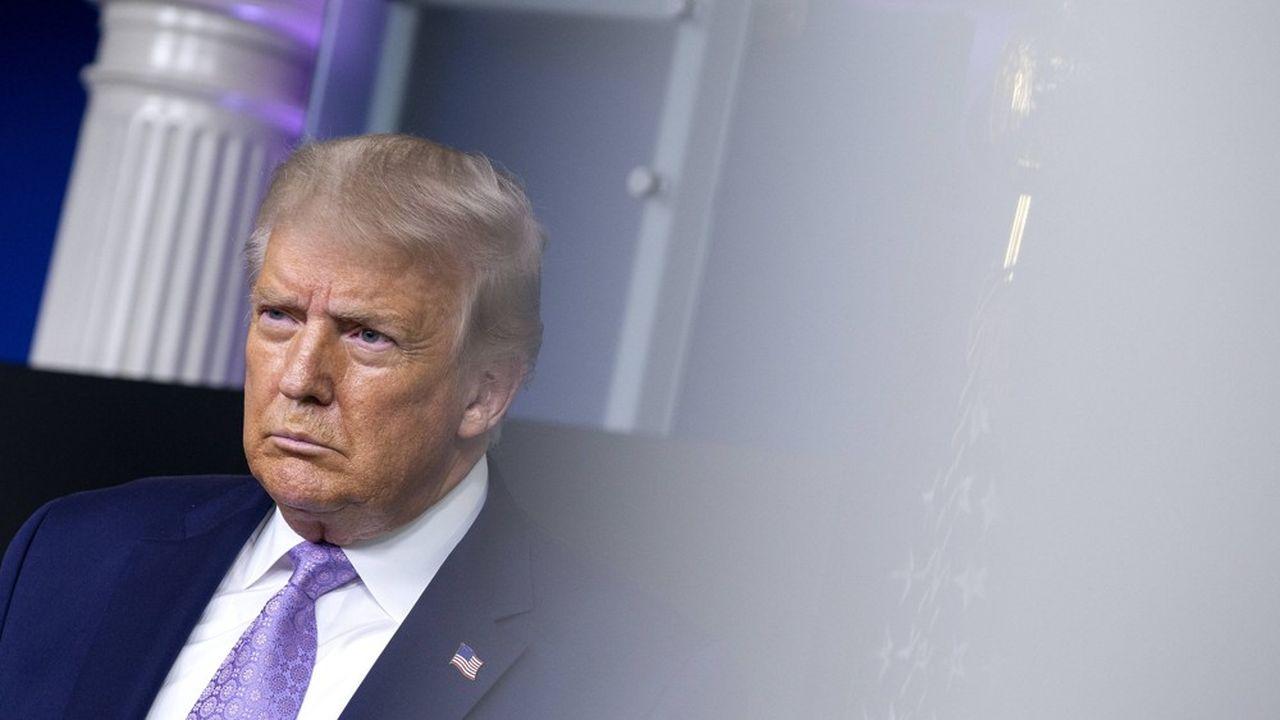 Donald Trump voit pour la première fois l'une de ses vidéos censurée par Facebook.