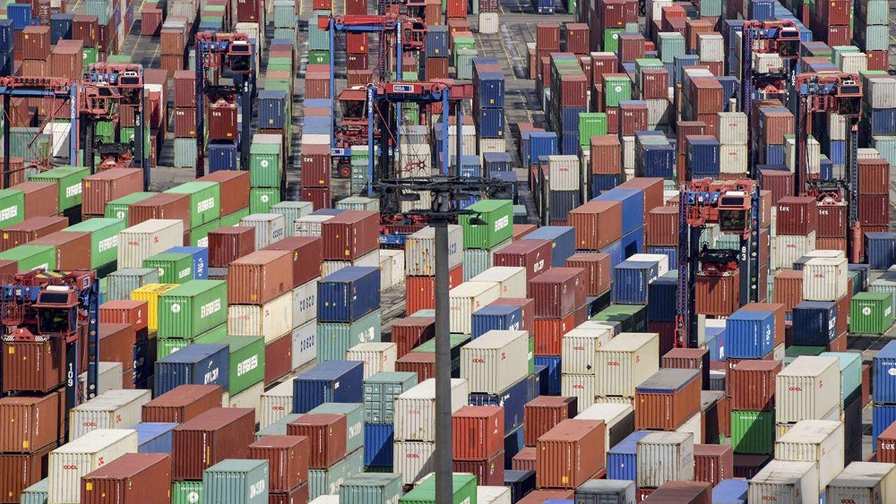 La chambre de commerce et d'industrie allemande anticipe une baisse de 15% des exportations allemandes sur l'année.