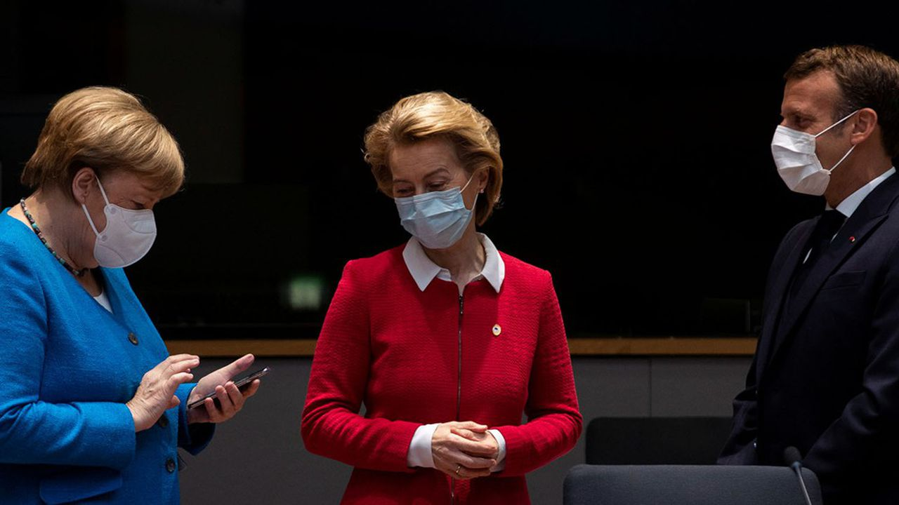 L'accord historique sur le recours à un emprunt européen et un plan de relance massifde 750milliards d'euros arrachés au Vingt-sept par le couple Macron-Merkel laissent les Français plutôt indifférents.