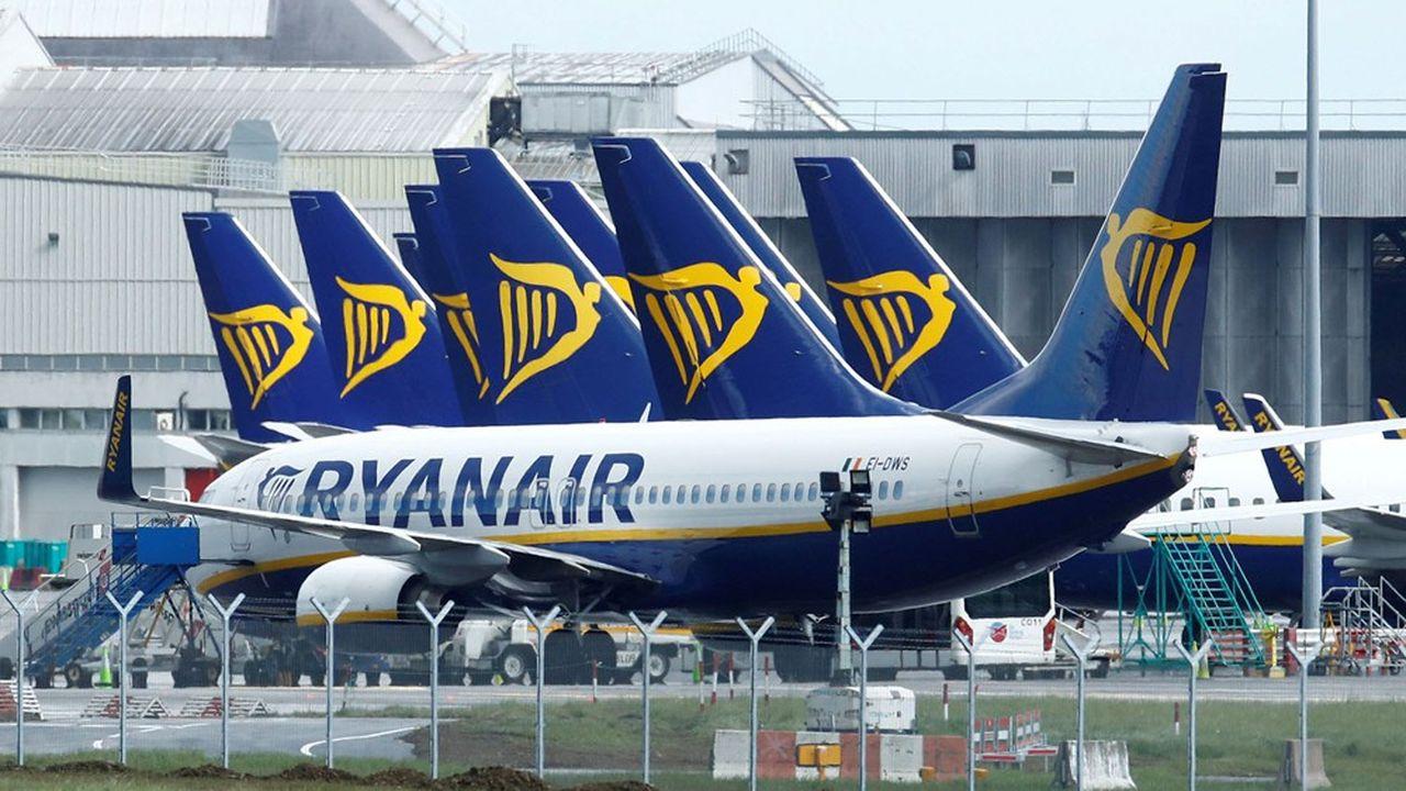 Ryanair prévoit d'opérer à 60% de ses capacités en août.