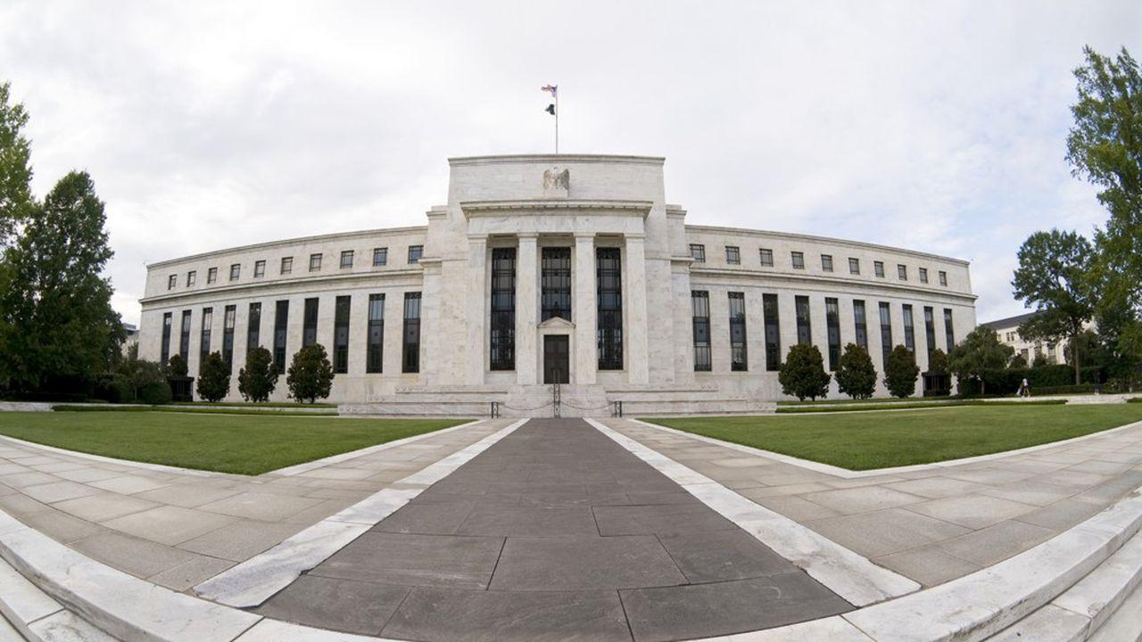 Le bâtiment de la Réserve fédérale américaine, à Washington.