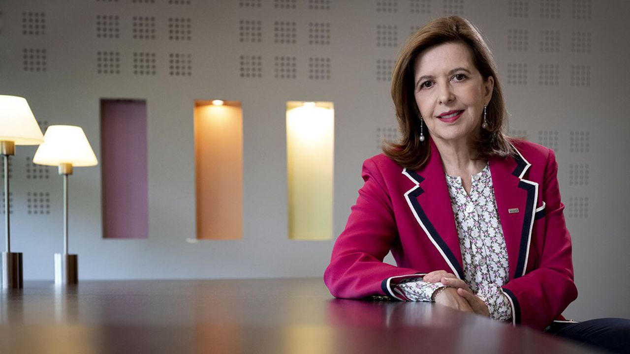 Sophie Bellon, présidente du conseil d'administration de Sodexo
