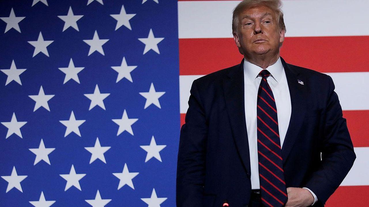 Donald Trump estime que TikTok et WeChat menacent la sécurité des Etats-Unis.