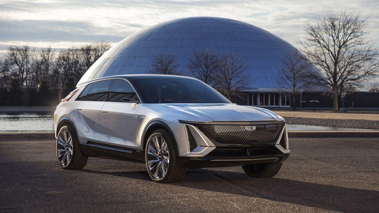 La Cadillac Lyriq doit permettre au groupe General Motors de rivaliser avec Tesla qui domine pour le moment le marché de la voiture électrique.