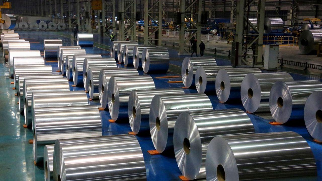 Le Canada qui est le quatrième producteur mondial d'aluminium, exporte 84% de sa production aux Etats-Unis