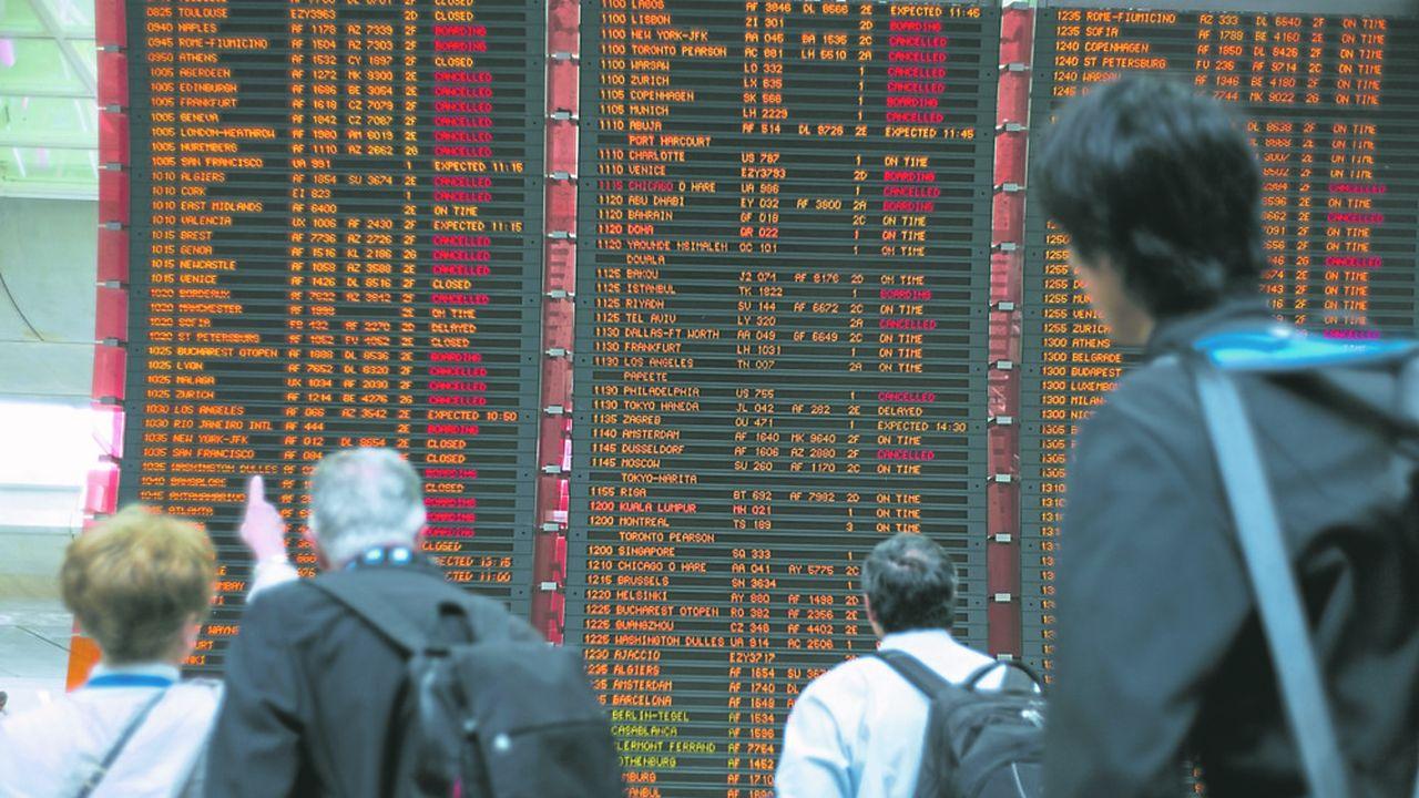 Les compagnies aériennes sont en première ligne en cas d'annulation de voyage de leur fait.
