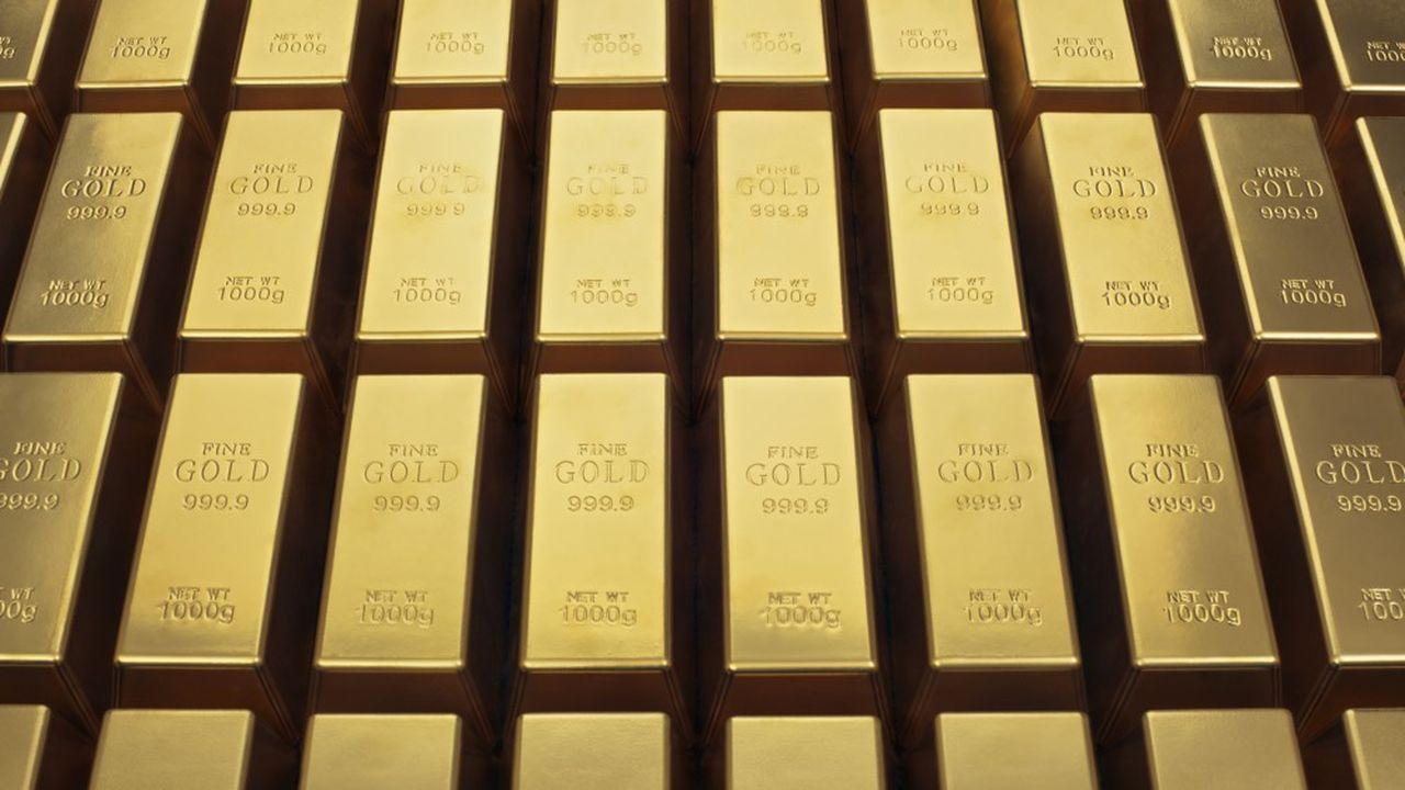 Environ 10% des stocks d'or privés auraient été transférés hors de Hong Kong en un an.