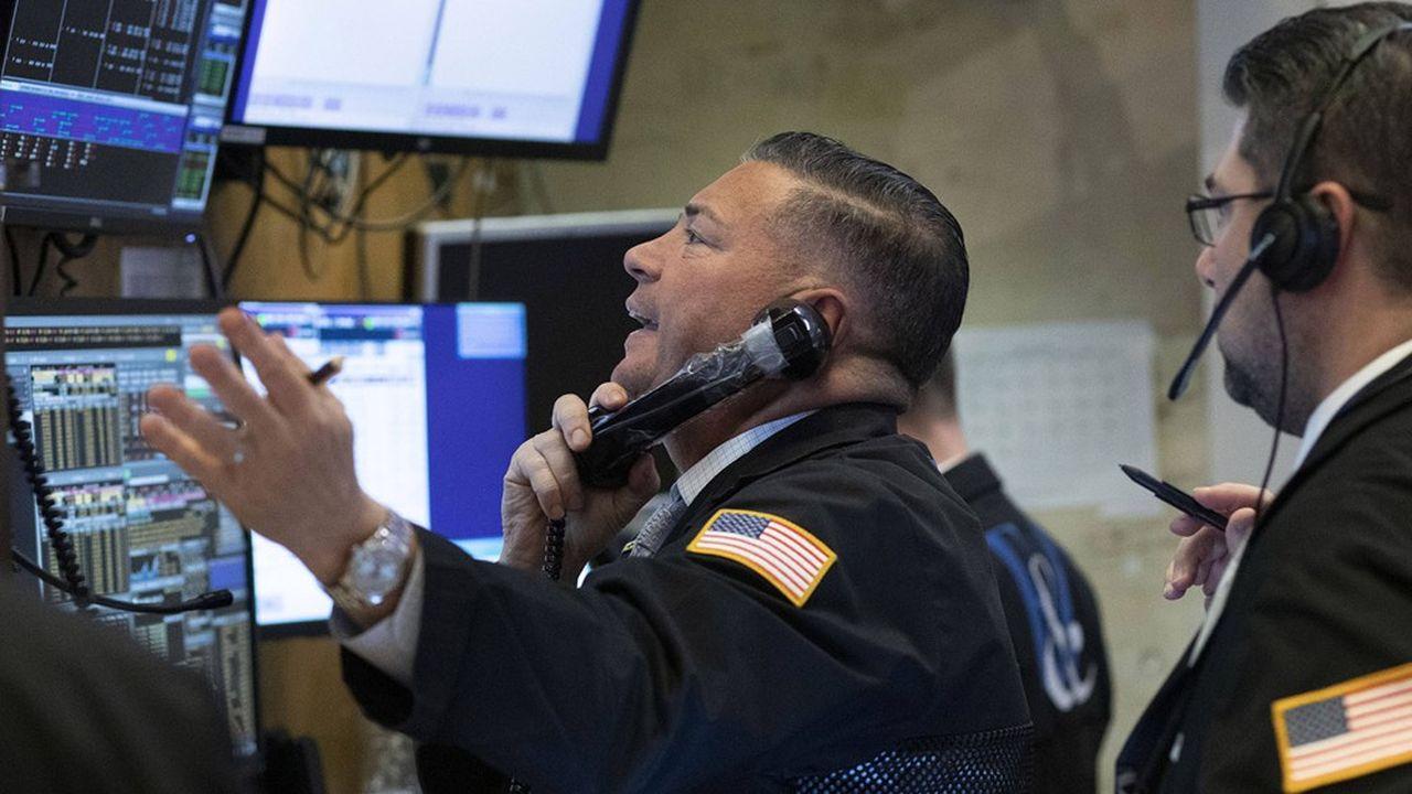 Le trading électronique s'est déjà imposé sur les marchés actions, comme ici au NYSE.
