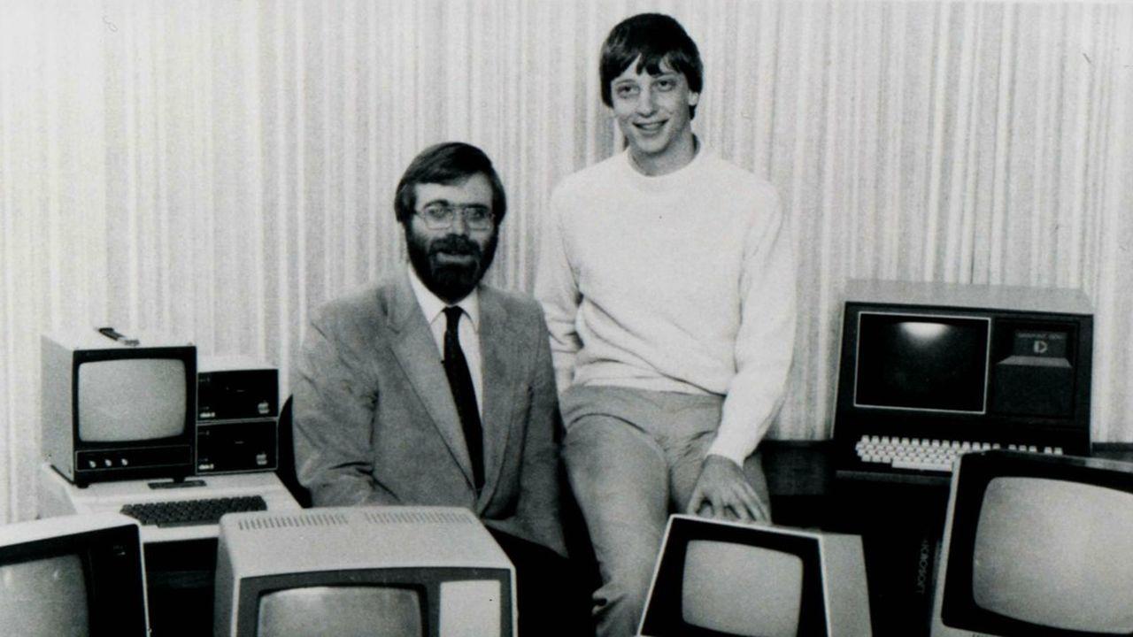 Paul Allen et Bill Gates en 1981.