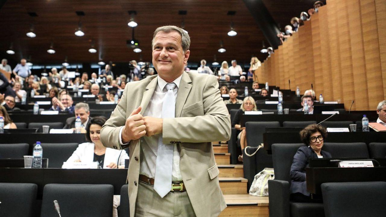 Louis Aliot a remporté la mairie de Perpignan lors des dernières élections municipales
