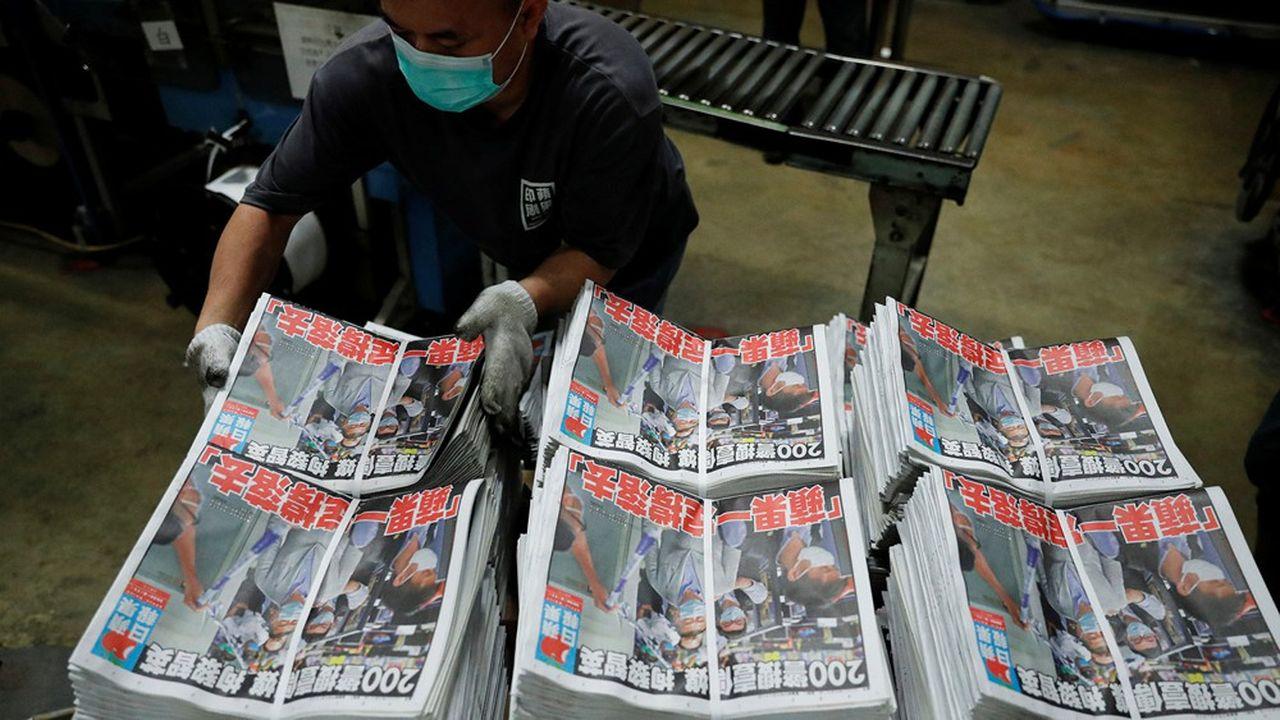 «Nous nous battrons» proclame l'«Apple Daily» en Une ce mardi, au lendemain de l'arrestation de son patron, le magnat de la presse et figure du mouvement pro-démocratie Jimmy Lai.