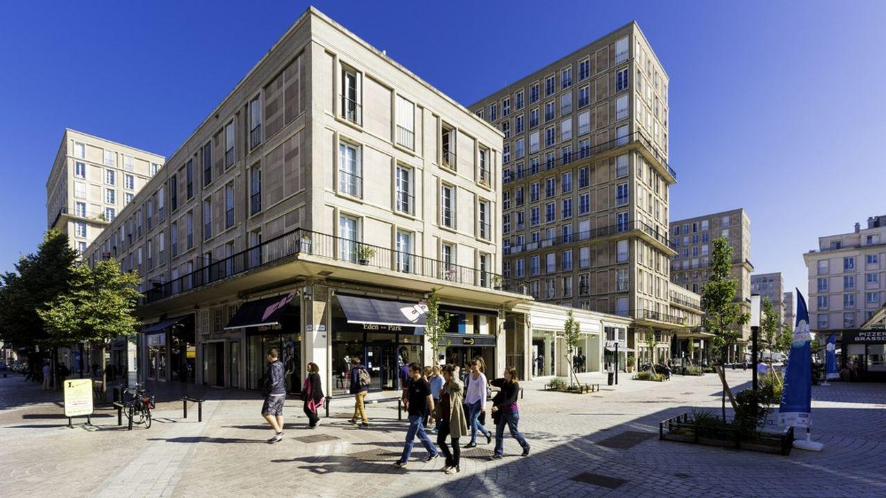 LeHavre s'est imposé comme un modèle d'architecture et d'urbanisme d'après-guerre.