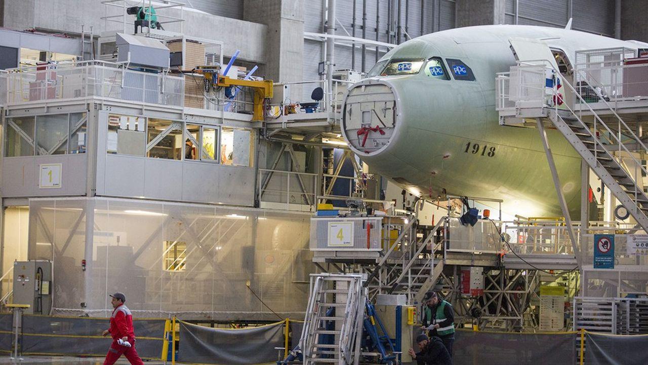Airbus et les autres grands acteurs veulent éviter que la crise brise la chaîne des sous-traitants de l'aéronautique.