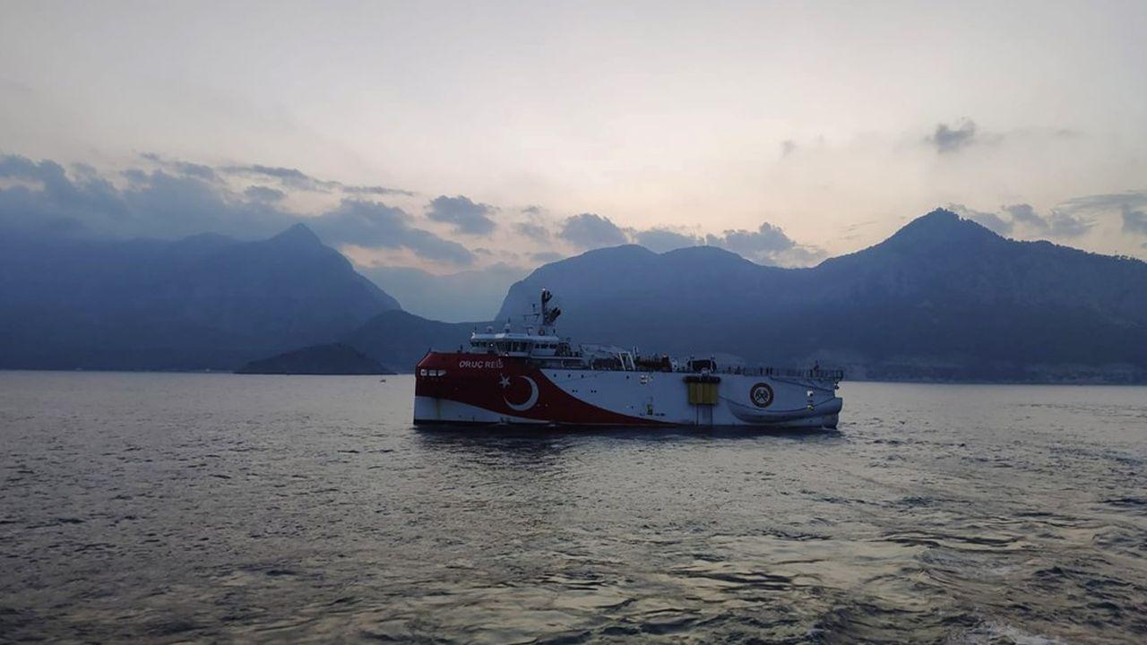 Le navire turc de recherches gazières, Oruc Reis, mène une nouvelle mission en Méditerranée orientale qui suscite la colère de la Grèce.