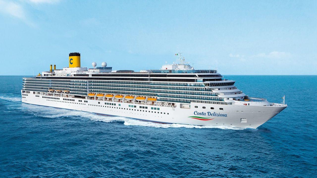 A compter du 6septembre, le «Costa Deliziosa», un paquebot de 294 mètres de long, pouvant accueillir 2826 passagers, sera la première unité de Costa à nouveau en service.