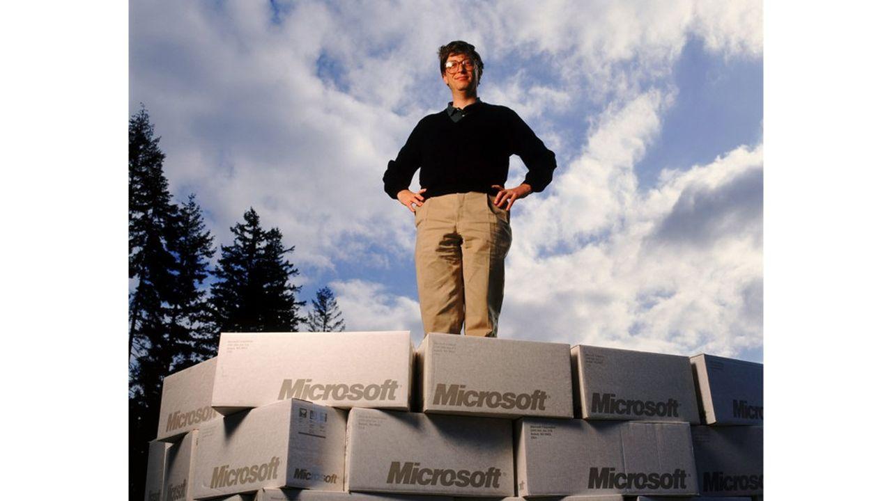 Bill Gates en 1991.