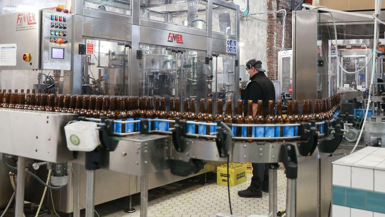 Au 1erjuillet, les ventes de bière étaient encore en retrait de -20%, tous circuits confondus.