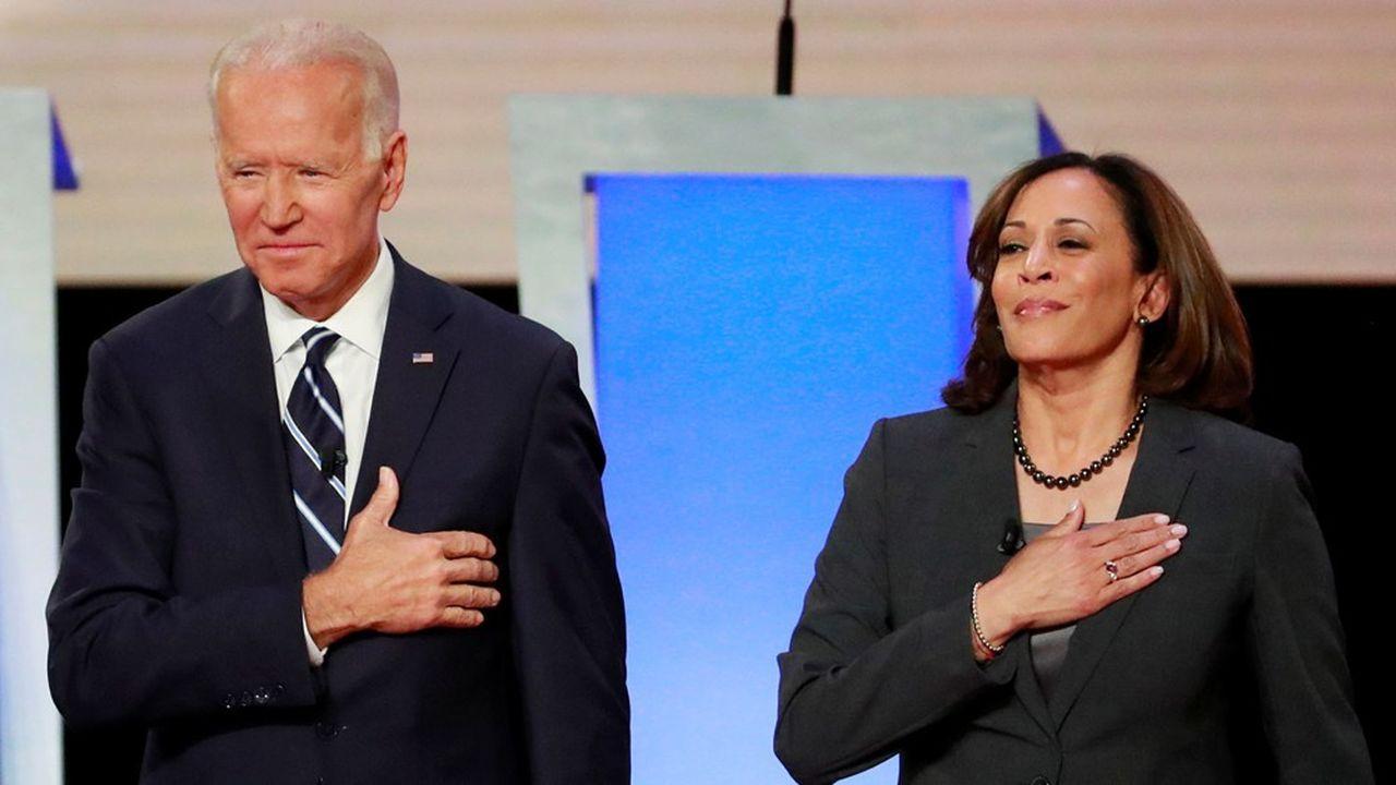 Joe Biden et Kamala Harris promettent ensemble de