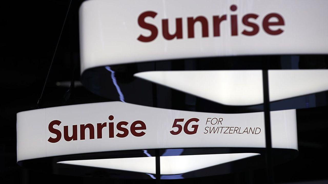 L'opérateur suisse Sunrise compte 2,4millions de clients mobiles selon les derniers résultats.