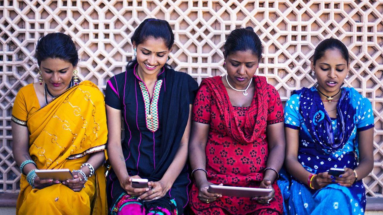 L'Inde est le deuxième marché pour la téléphonie mobile après la Chine.