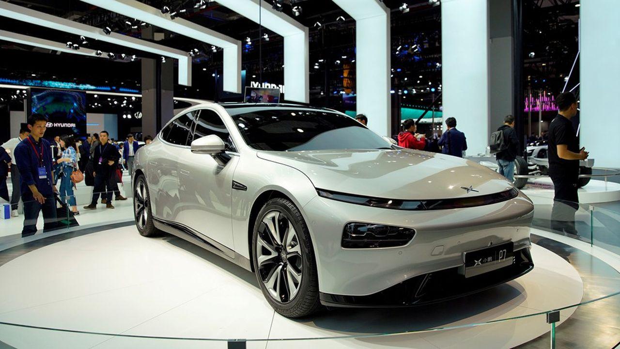 La berline sportive P7 de XPeng s'est vendue à près de 2.000 unités depuis son lancement en mai2020.
