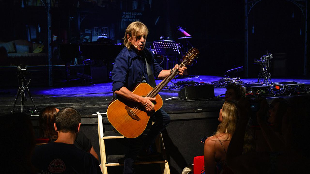 Jean-Louis Aubert en concert aux Francolies de La Rochelle