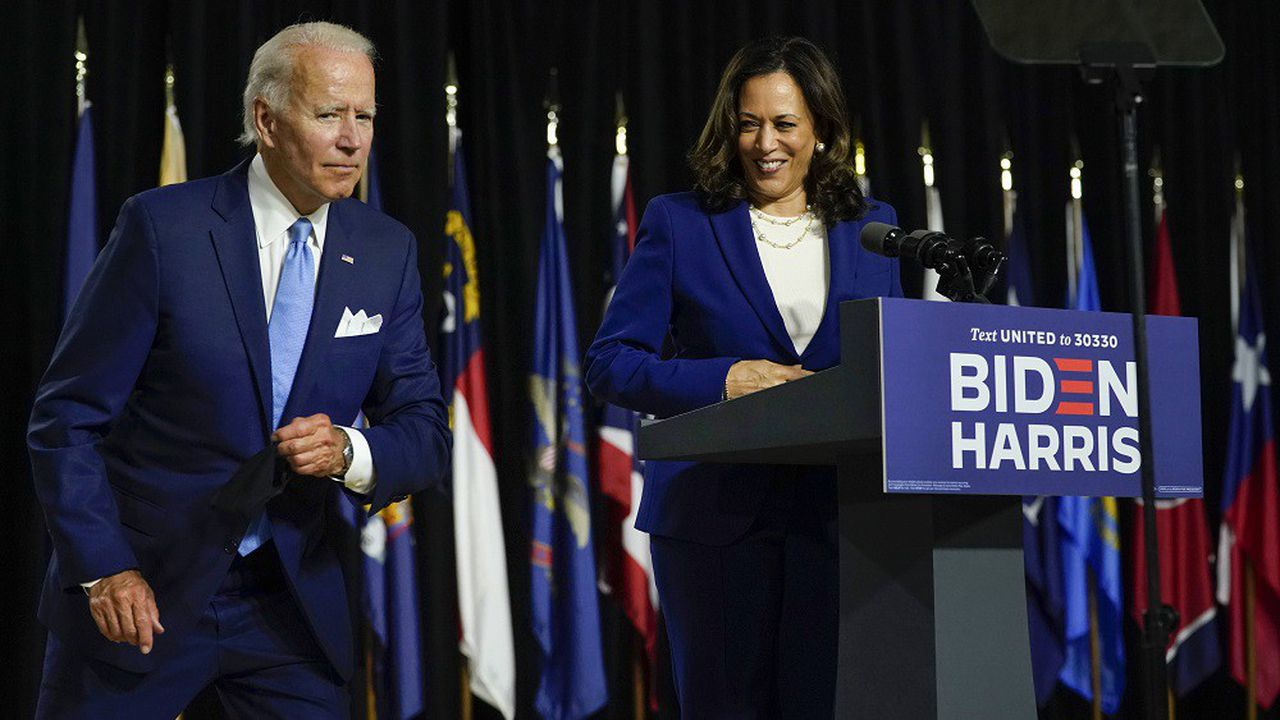 «L'Amérique est en manque criant d'un dirigeant. Et pourtant nous avons un président qui se préoccupe plus de lui que de ceux qui l'ont élu», a notamment lancé Kamala Harris lors de son premier meeting en commun avec Joe Biden.