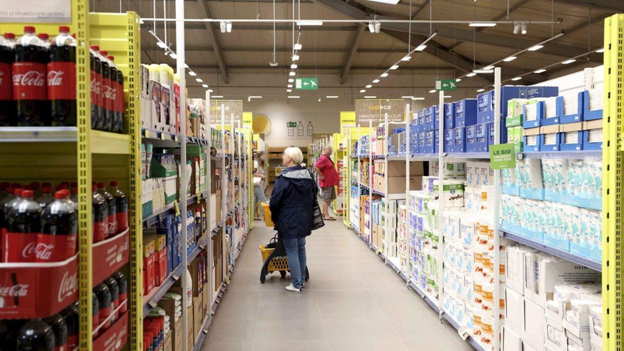 Carrefour a commencé à développer son concept discount espagnol Supeco en France.