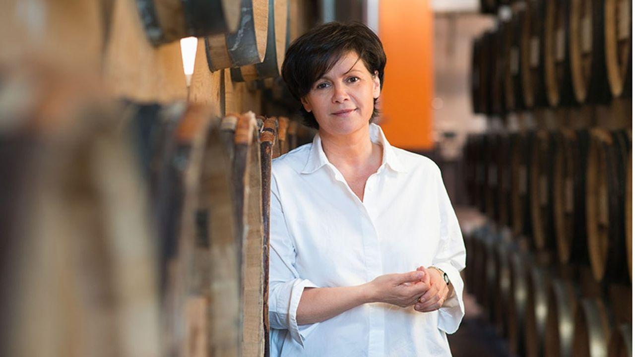 Miren de Lorgeril, présidente duconseil interprofessionnel des vins du Languedoc.