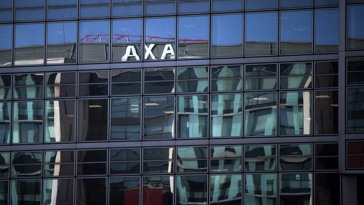 Le siège d'Axa à Nanterre