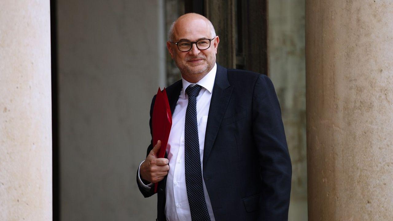 Le secrétaire d'Etat chargé des Retraites et de la Santé au travail, Laurent Pietraszewski.