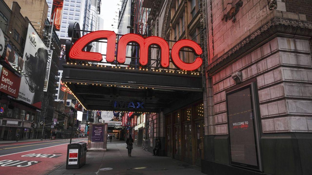 Au premier semestre, l'exploitant AMC a perdu 2,7milliards de dollars.