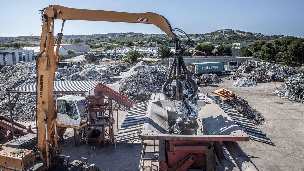 Praxy double de taille dans le recyclage industriel avec l'acquisition de 7plateformes d'Epur.