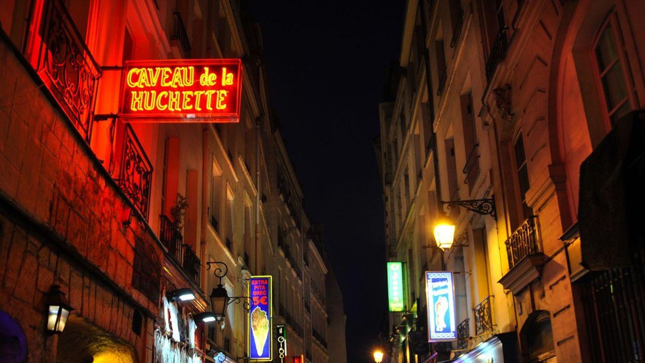 Le Caveau de la Huchette, l'un des rares théâtres ouverts cet été.