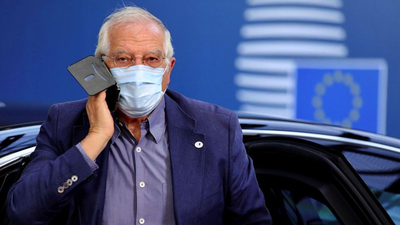 Josep Borrell, Haut représentant de l'Union pour les affaires étrangères et la politique de sécurité, a dirigé la réunion, qui s'est tenue par vidéoconférence.