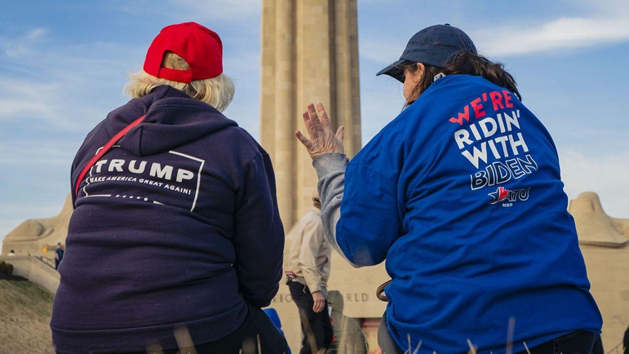 Au niveau national, Joe Biden dispose d'une avance de 8,5 points dans la moyenne des sondages, selon le site FiveThirtyEight.