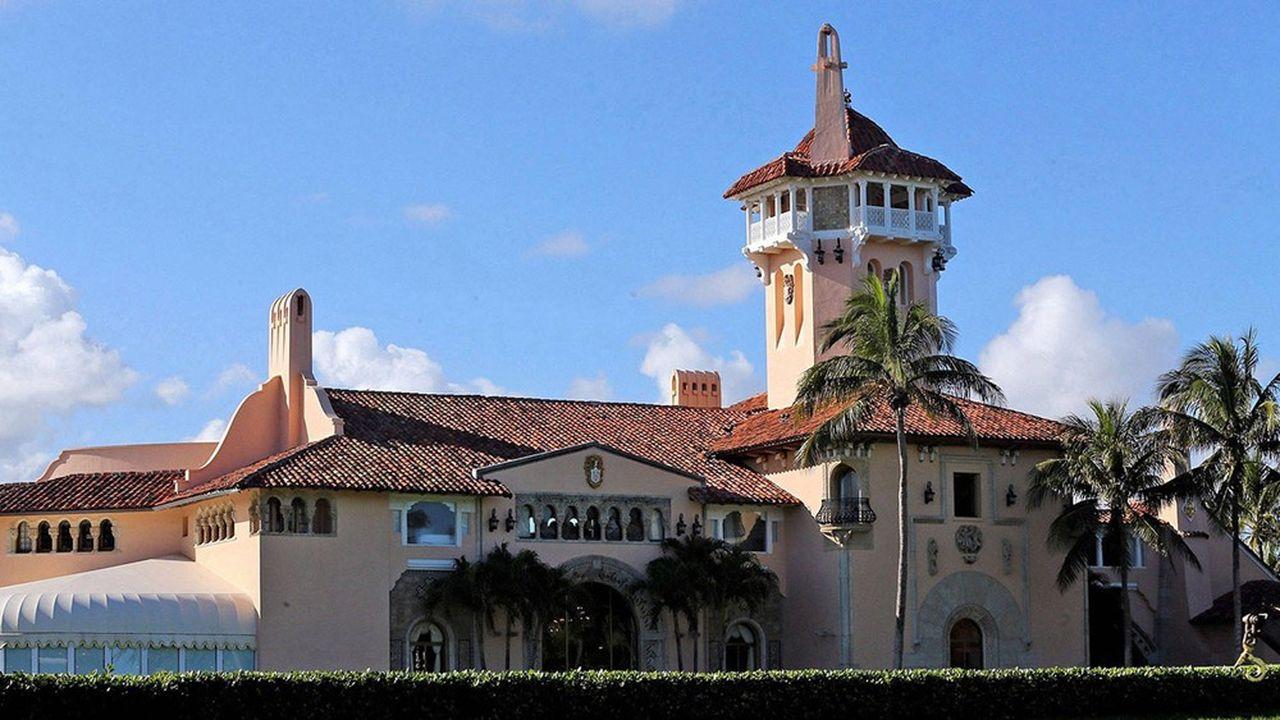 A Palm Beach, la propriété «Mar-a-Lago» de Donald Trump est estimée à plus de 50millions de dollars, selon la déclaration de patrimoine 2019 du président américain