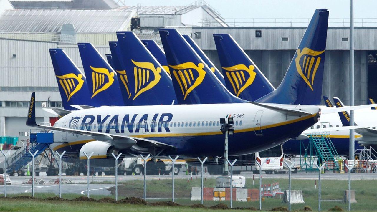 Ryanair subit l'épidémie — Coronavirus