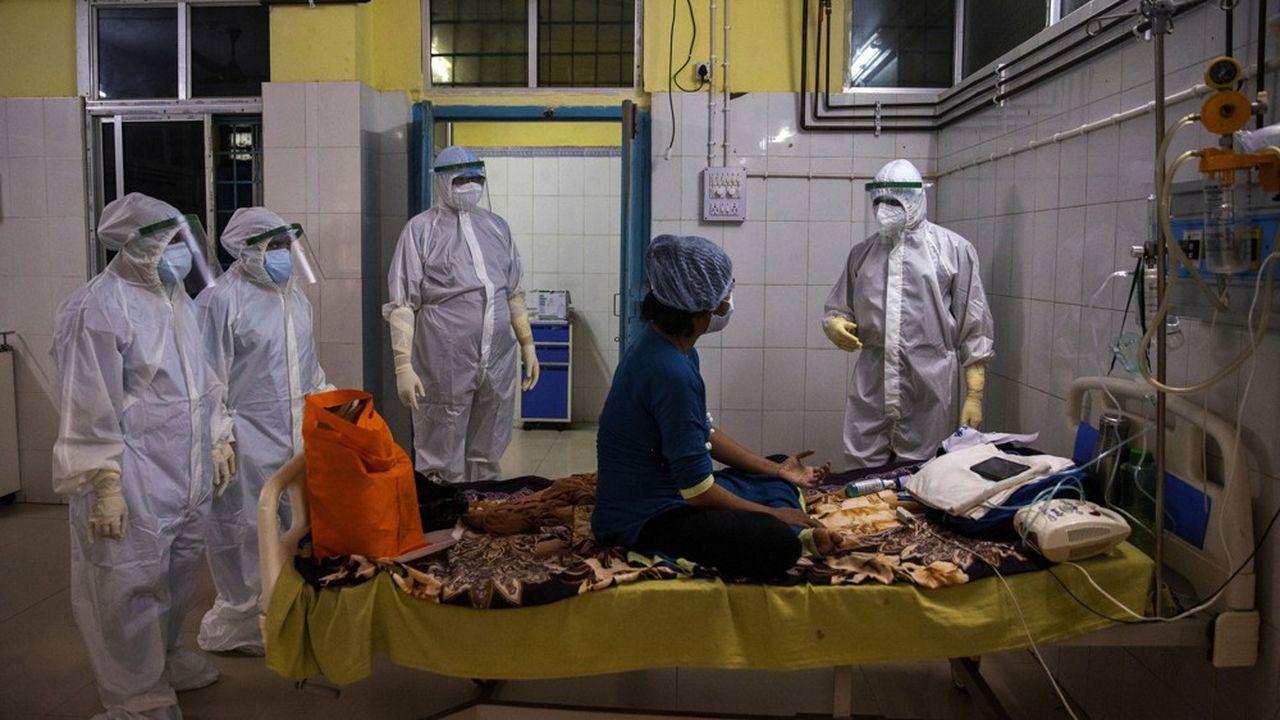 L'Inde a passé, lundi, la barre des 50.000 morts dus au coronavirus.
