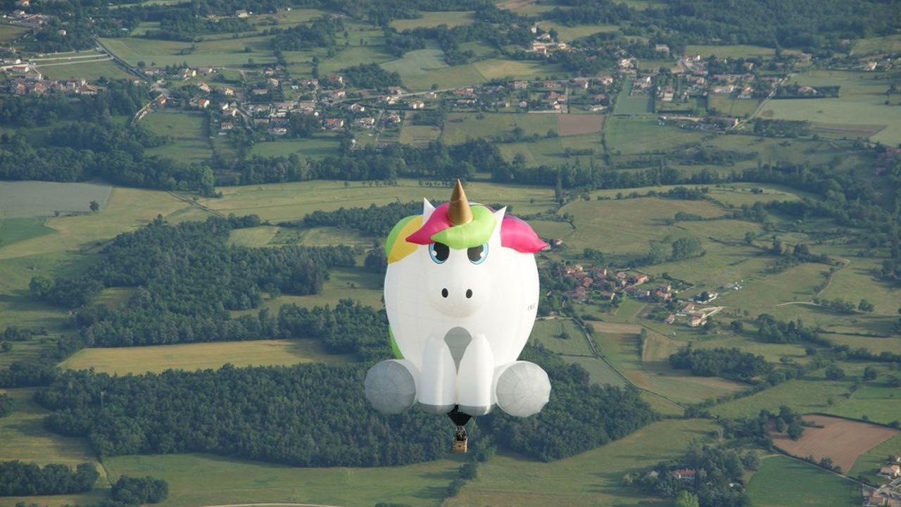 «Lulu», le premier modèle à forme de Ballons Chaize, a fait son premier vol début mai.