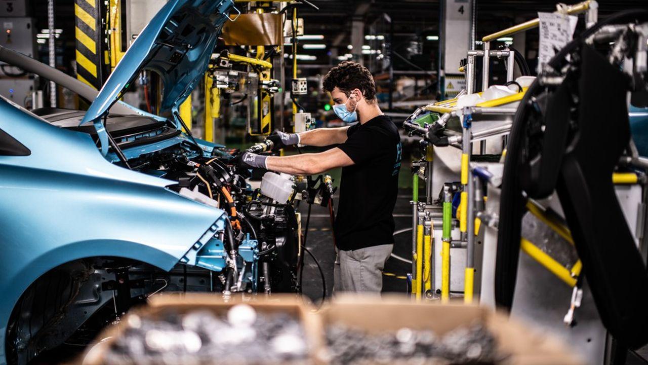 Les chaînes de production se sont arrêtées quasiment deux mois sur le Vieux Continent, en raison de la crise sanitaire.