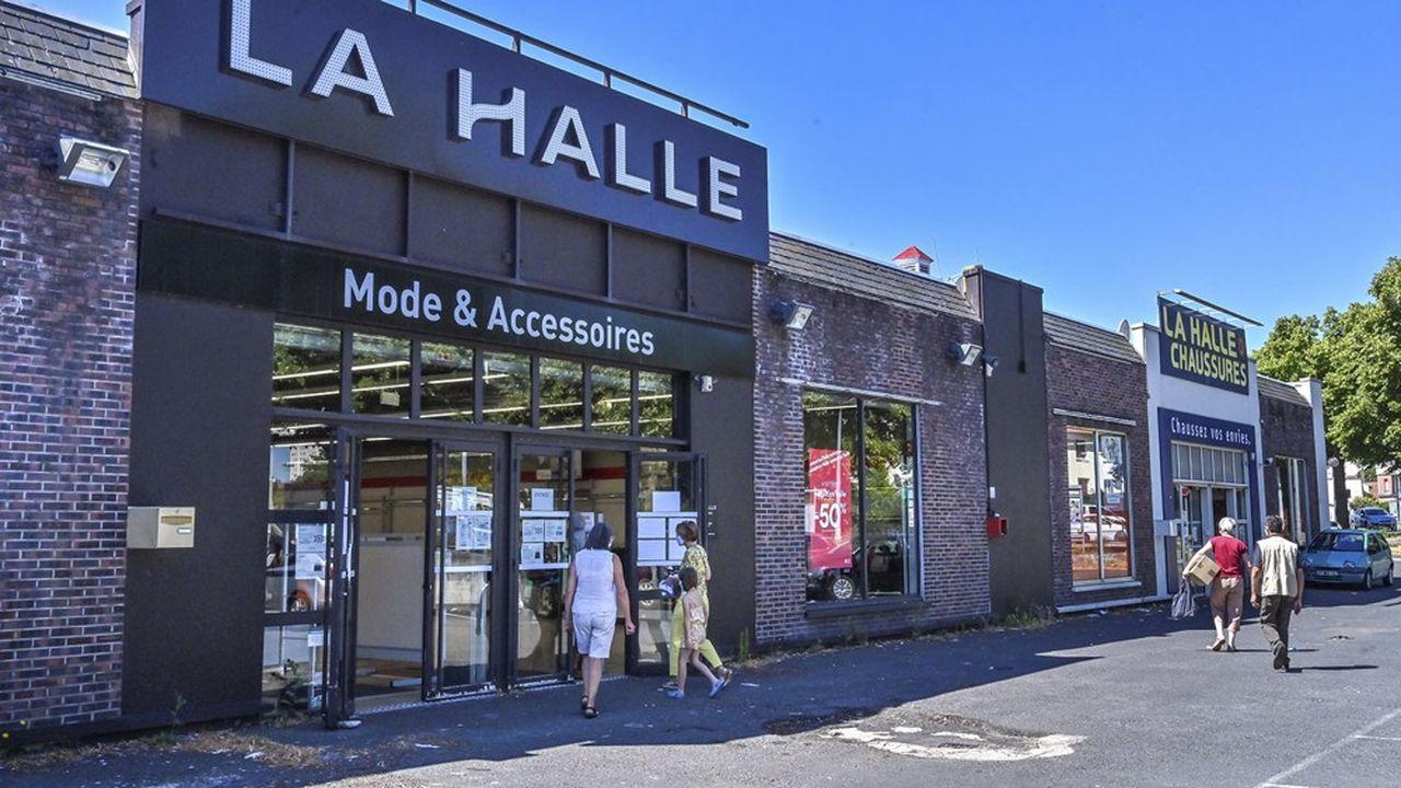 La Halle a été reprise en juillet par le poids lourd breton du prêt-à-porter Beaumanoir.