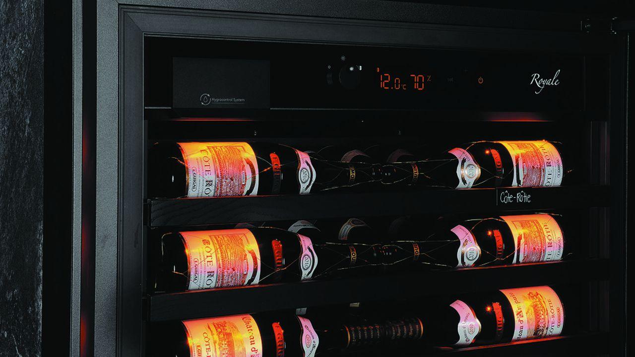 Il faut 350composants pour fabriquer une cave à vin et les 35gammes comptent des milliers de références.