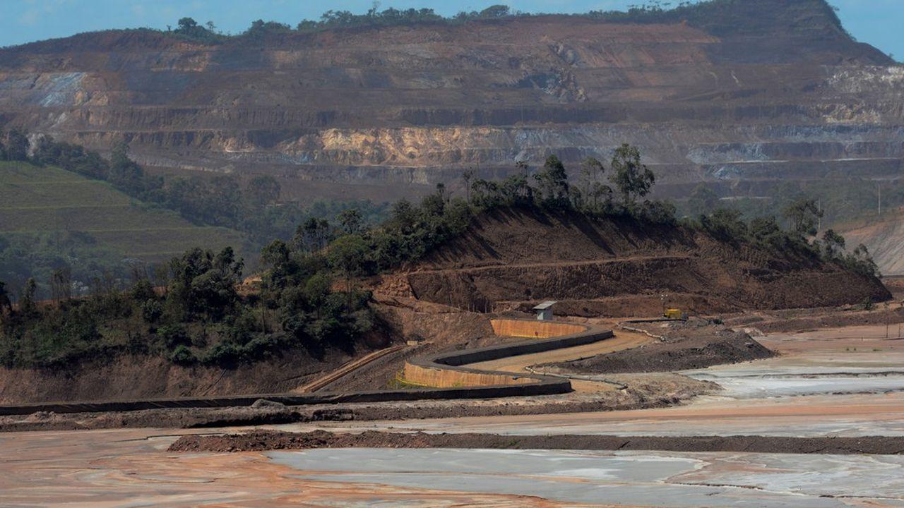 Une mine exploitée par BHP.