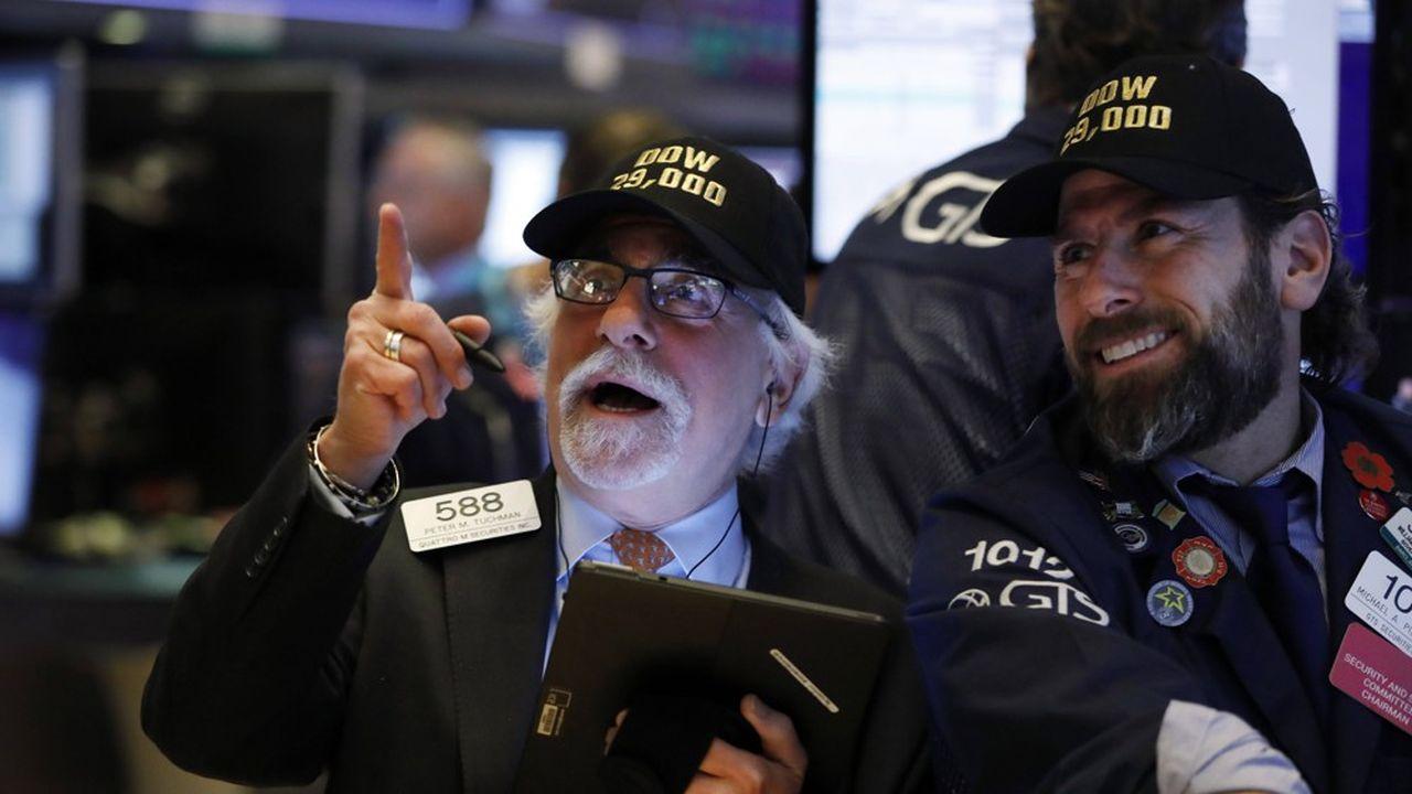 Le S & P 500 a retrouvé ses niveaux records du mois de février